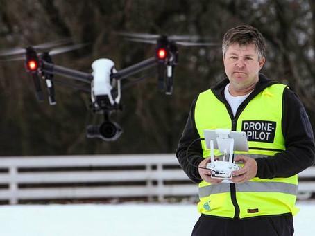 Bruk av drone i kommersiell sammenheng