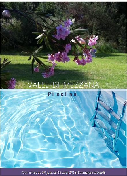Piscine en plein-air de Valle-Di-Mezzana, Corse-du-Sud
