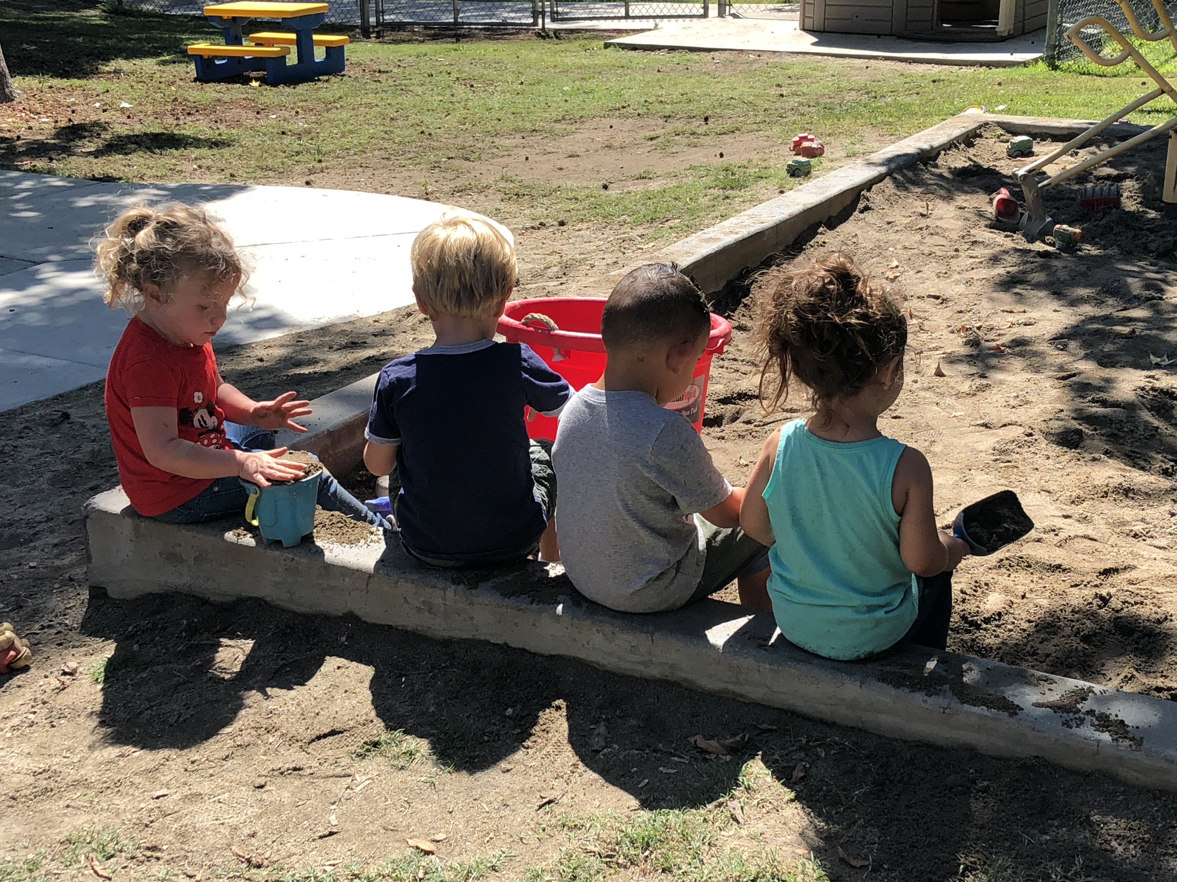 Tiny Tartans Preschool Sandbox