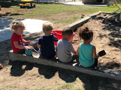 Tiny Tartans Preschool Sandbox