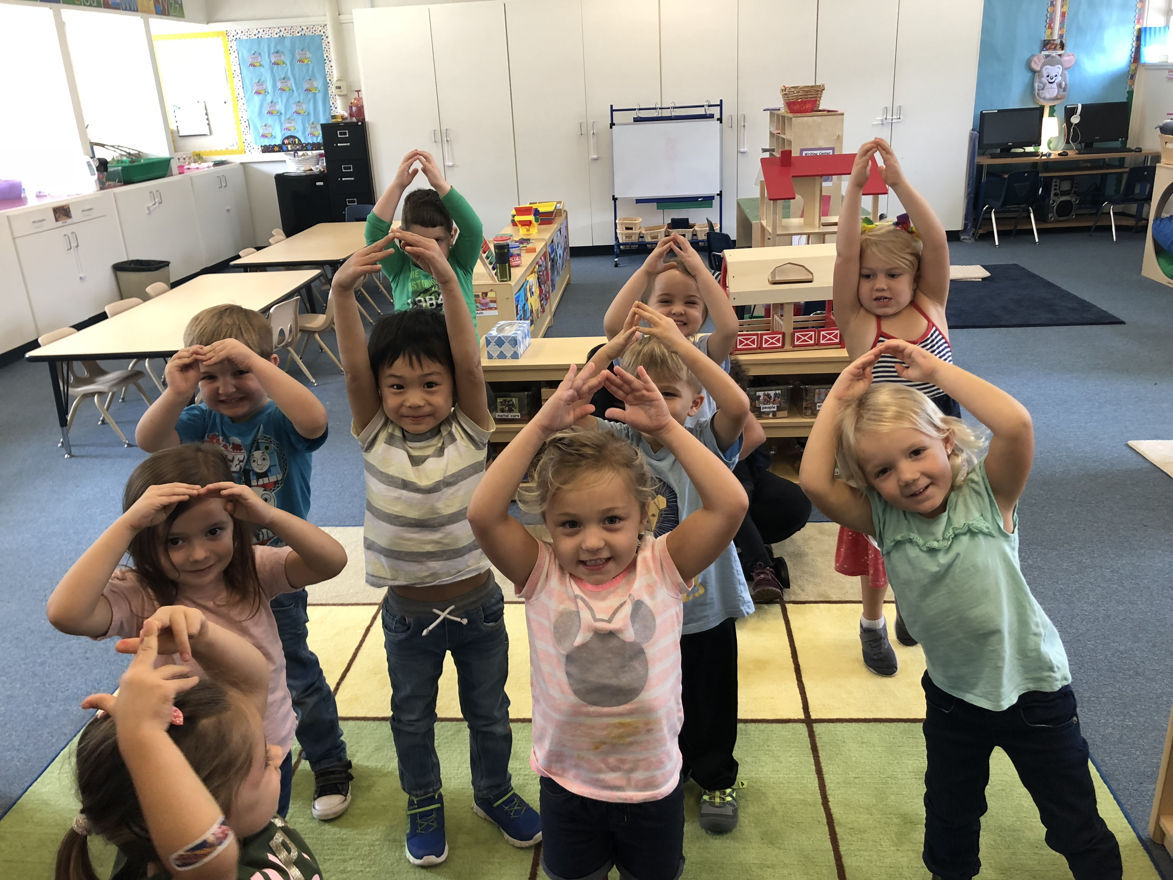 Tiny Tartans Preschool Exercise