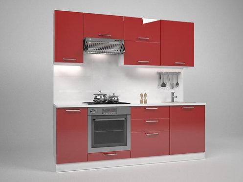 Комплект кухня Трейси red
