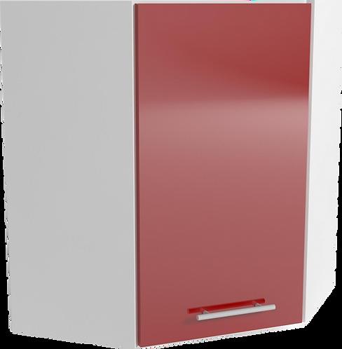 Tracy B60 ъглов шкаф червен гланц