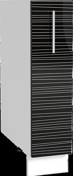 Tracy H15 с карго черен гланц