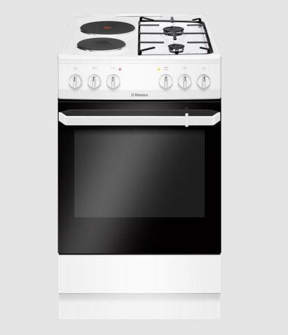 Cвободностояща печка с комбиниран плот