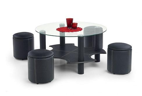 Холна маса с 4 табуретки Белинда