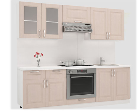 Кухня комплект Цинамон 2,20м
