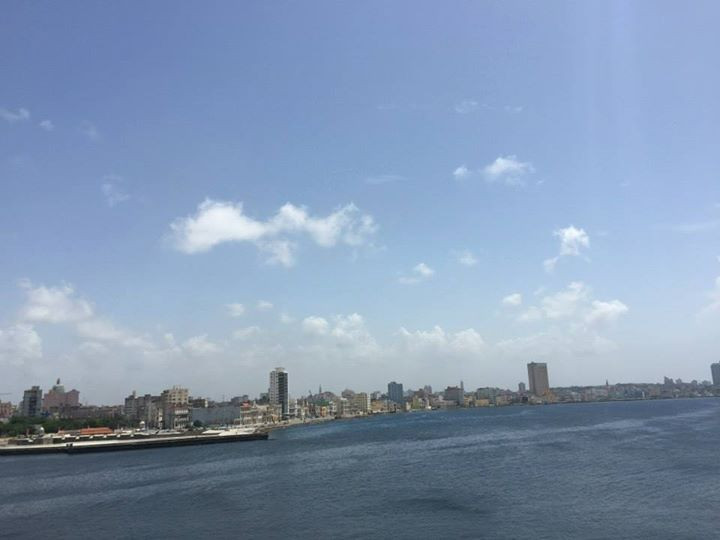 View from El Morro (the lighthouse) over Havana