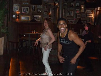 Juan & Susan at Rev de Cuba