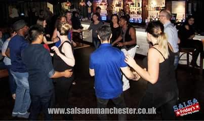 Salsa in Manchester salsa class