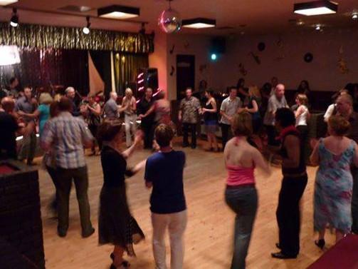Salsa class in Oldham