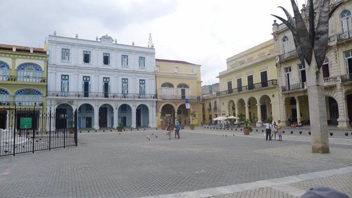Plaza Vieja Havana June 2016