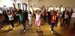 Salsa class Instituto Cervantes Manchester