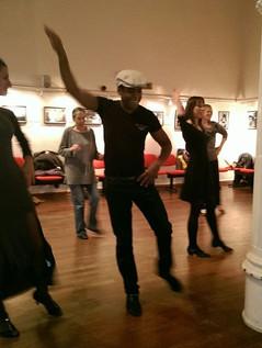 Salsa class Instituto Cervantes