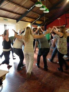 Salsa class at AfroCuban