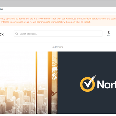 Norton LifeLock's new webstore: proof that ecommerce is the future of brand-building
