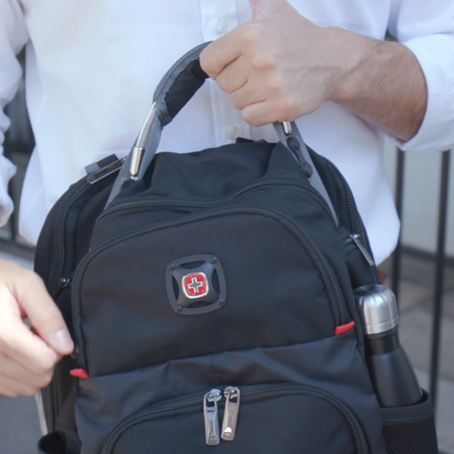 The Wenger backpack is a must-have for your Work From Anywhere workforce