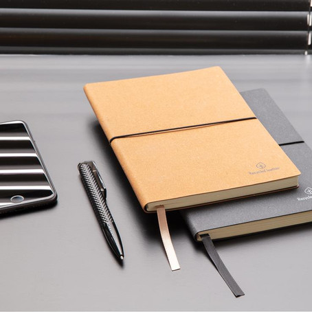 Product of the Month: Recycled Leather Notebook