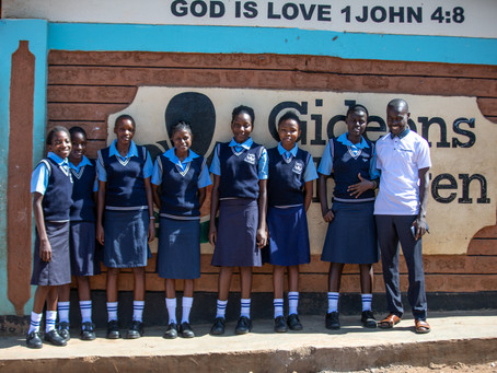 Jack Nadel In Africa: Getting An Education at Gideon's Orphanage