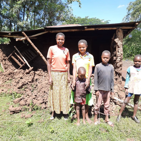 Jack Nadel in Africa: Flood-hit Ramba and the wonderful emergency house-building project