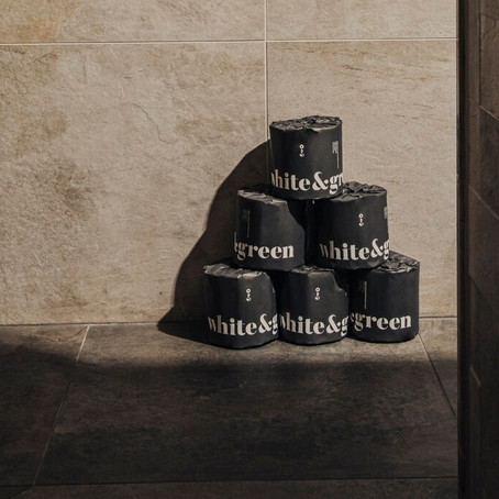 'White & Green' eco loo rolls: November's Product of the Month