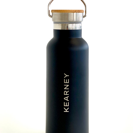 Product of the Month: The midocean drinkware used to promote global consultancy Kearney's rebrand