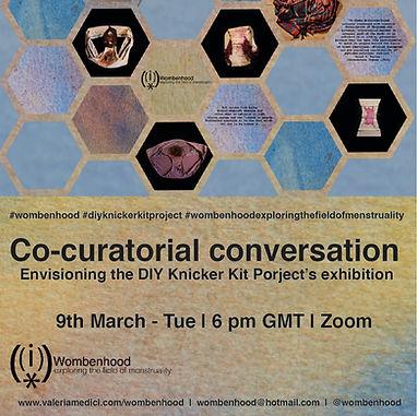 9th Mar_6 pm_Co-curatorial conversation