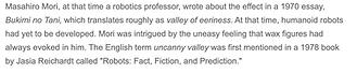 Masahiro Mori_coniated term uncanny vall
