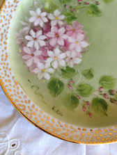 Fine Porcelaine Hand Painted