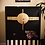 Thumbnail: Glamour and Luxury Cabinet, vintage renovated in modern style
