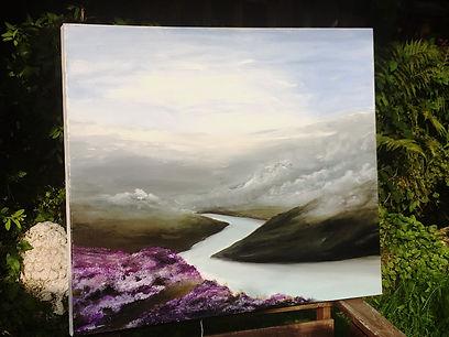 beautiful painting of english landscape