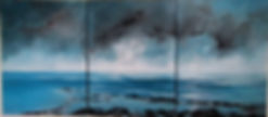 Seascape painting, South Coast uk, south coast painting, sussex beach, sussex winter, sussex winter seascape, sussex seascape painting, hatings painting, Eastbourn painting, beachy head painting, low tide paintng, hastings low tide, hastings sea painting, eastboune seascape painting, sussex winter painting, south downs winter painting, south downs painting, winter seascape painting, dramatic sea painting, large paintng, shore paining, shore hastings, beach hastings, beach hastings painting,
