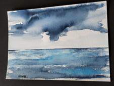 aquarela paisagem marinha única e original .jpg