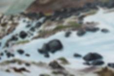 beautiful painting north england uk yorkshire moors dales snow landscape winter ilkley york