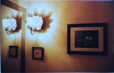 creation of wall lights and pictures
