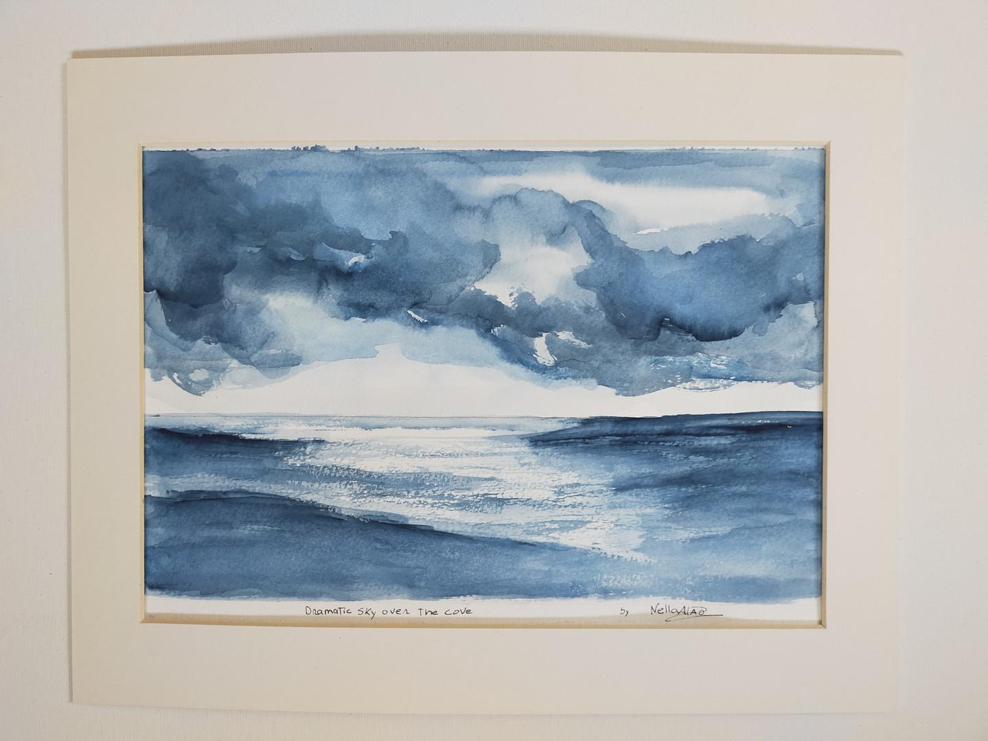 original and unique art, seascape painting