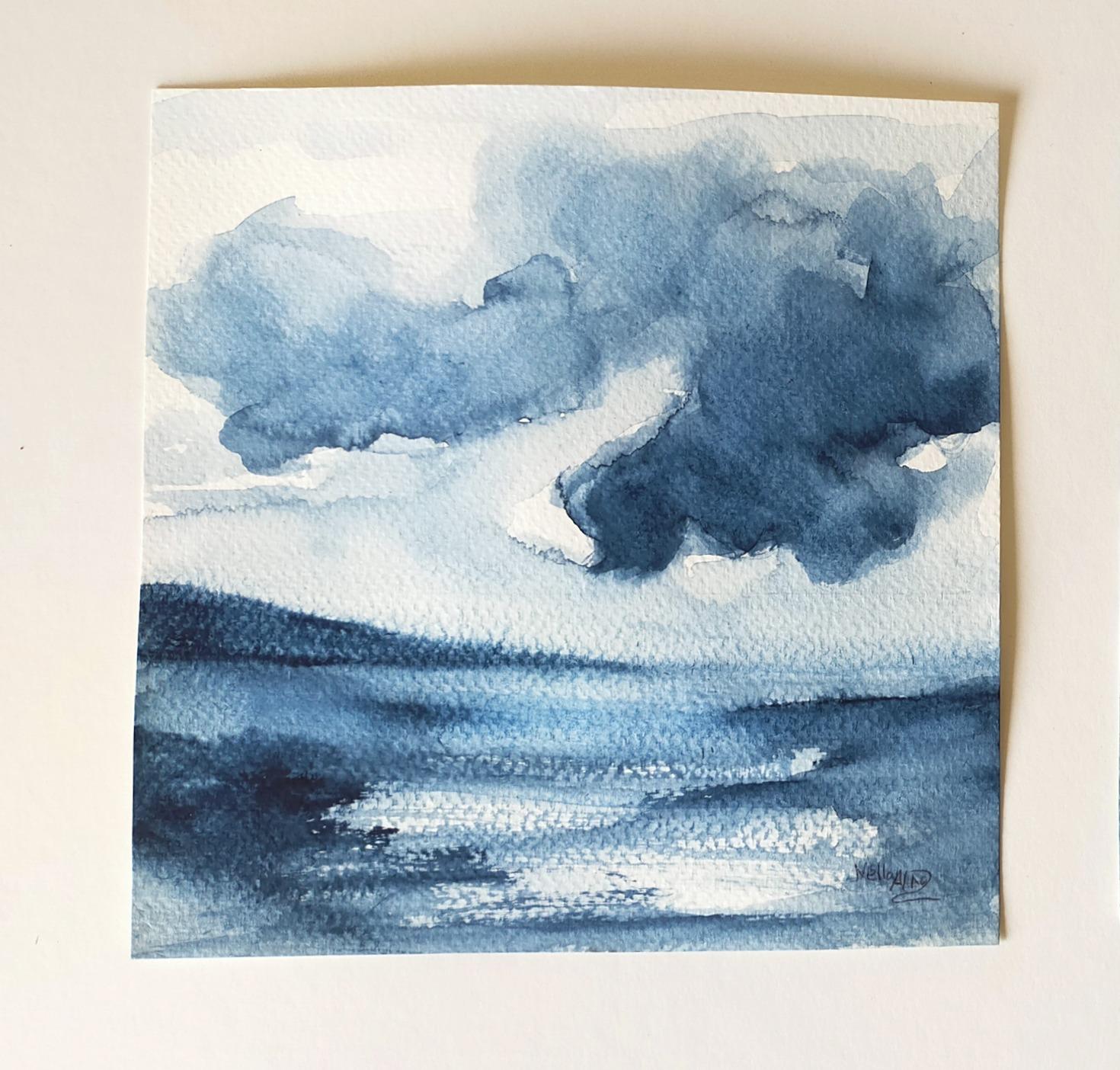 Storm inland