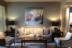 painting in a classic chic decor