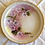 Thumbnail: Violets, Bone Fine China Plate