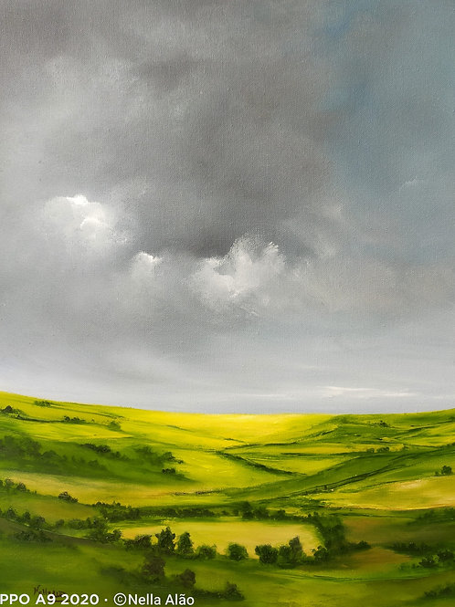English countryside I , oil painting