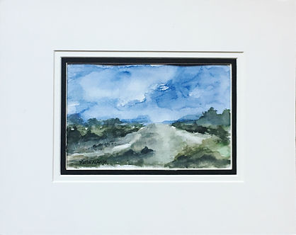 Original artOriginal art painting Watercolourcountryside Landscape