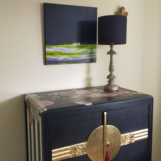 A perfect decor with an original oil painting.jpg