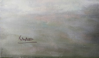 artist signature on painting front