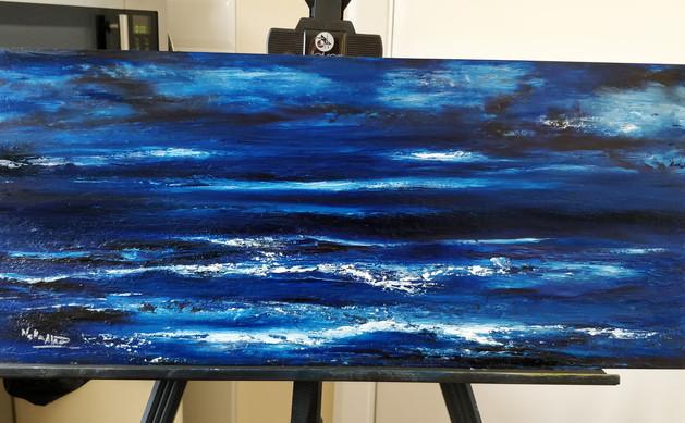 Sea at Night pintura a óleo.jpg