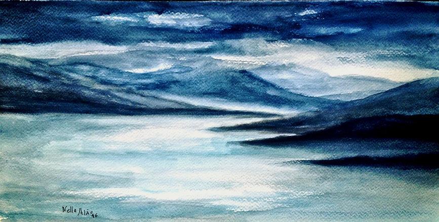 Storm arriving in Loch