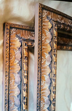 big frames hand decorated