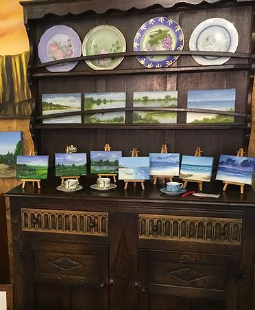 art paintings in Nella Alao studio