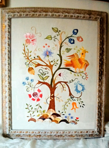 frame decorated for this beautiful artwo