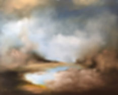 original and unique landscape painting, original and unique abstract landscape painting, paintings to home decor, best christmas gifts, christmas gifts, original chistmas gifts, original christmas presents, luxury gifts, luxury homes, best paintings to home decor, best paintings to decor, best paintings to interior design, abstract paintings interior design, clouds and mist oil painting, hot spring painting, lake landscape oil painting, lake contemporary painting,