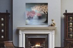 painting in classic decor